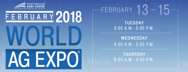 World AG Expo 2018