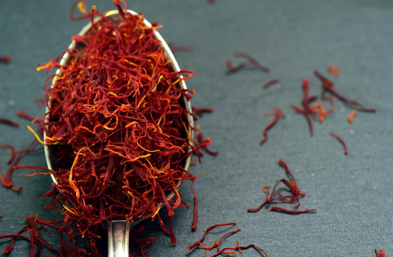 saffron - most expensive spice