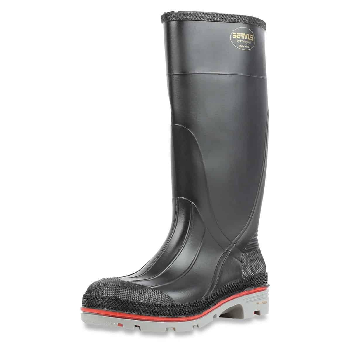 Servus 15″ PVC Polyblend Soft Toe Men's Work Boots