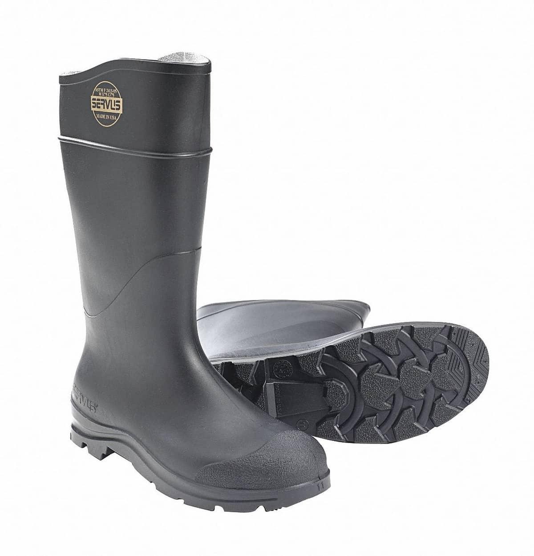 Servus Comfort Technology 14″ PVC Steel-Toe Men's Work Boots